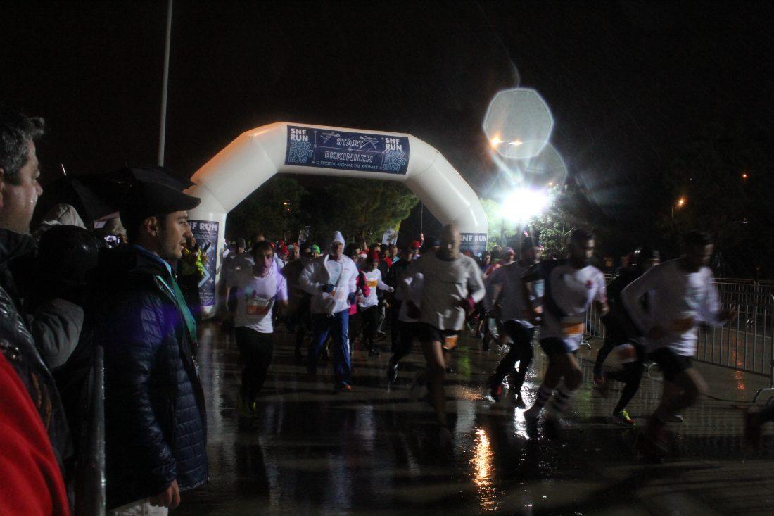 SNF RUN: 2019 First Run   Finish Line Digital Canvas