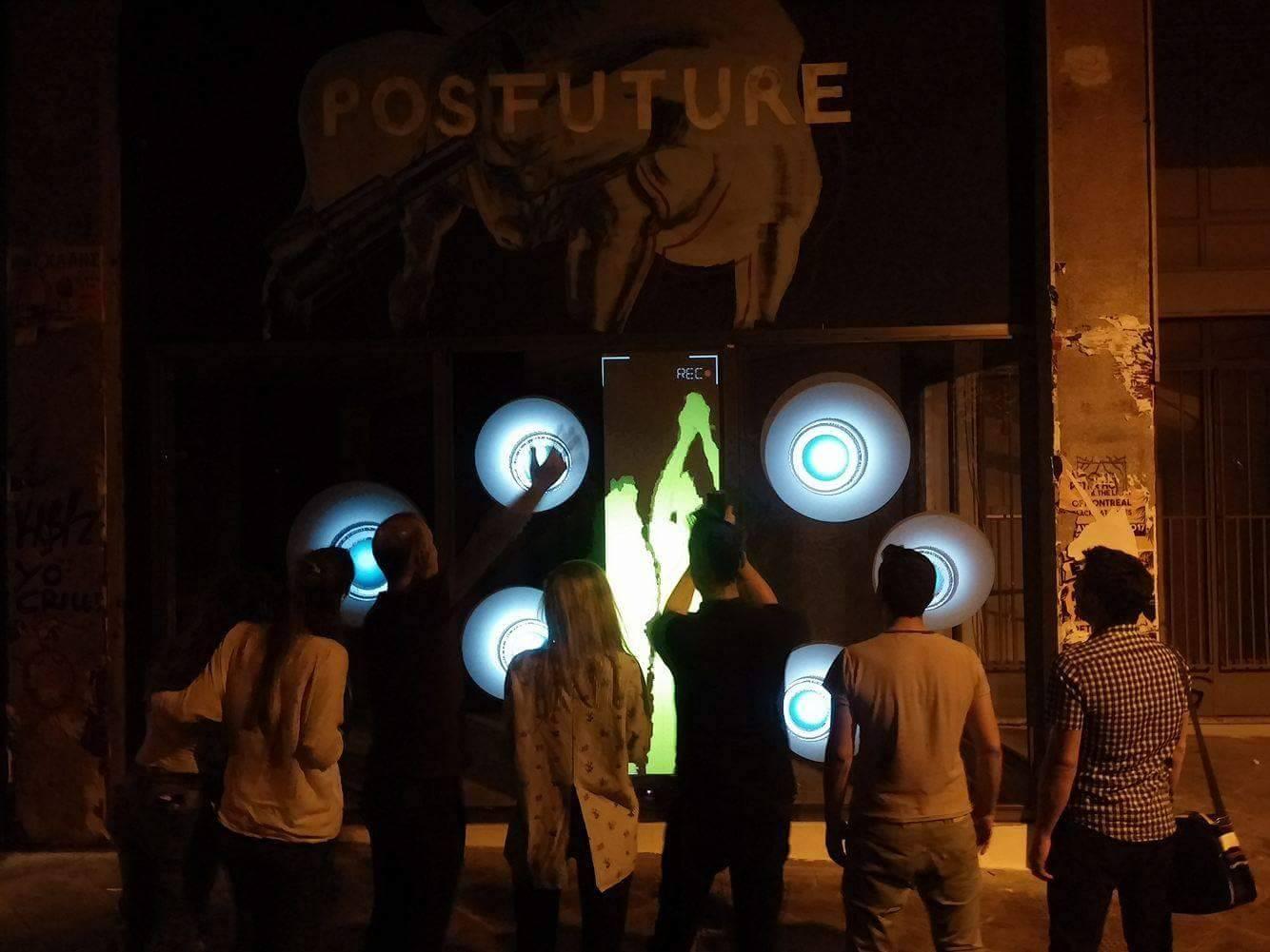 REC: Interactive Installation // #PostFuture Mural
